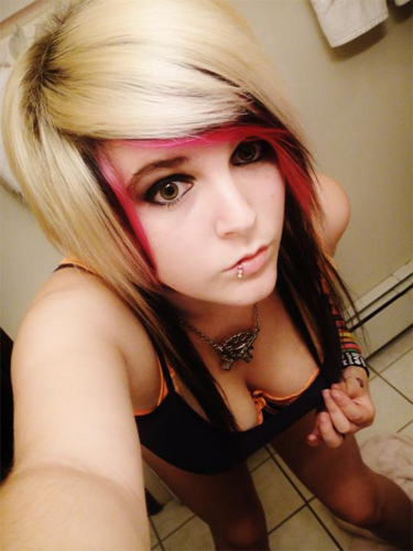 Busty Emo Scene Chick